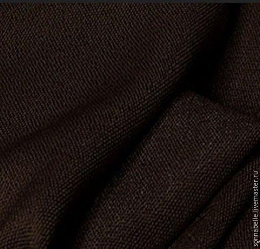 Шитье ручной работы. Ярмарка Мастеров - ручная работа. Купить Портьерная ткань под лен Венге. Handmade. Комбинированный, лен