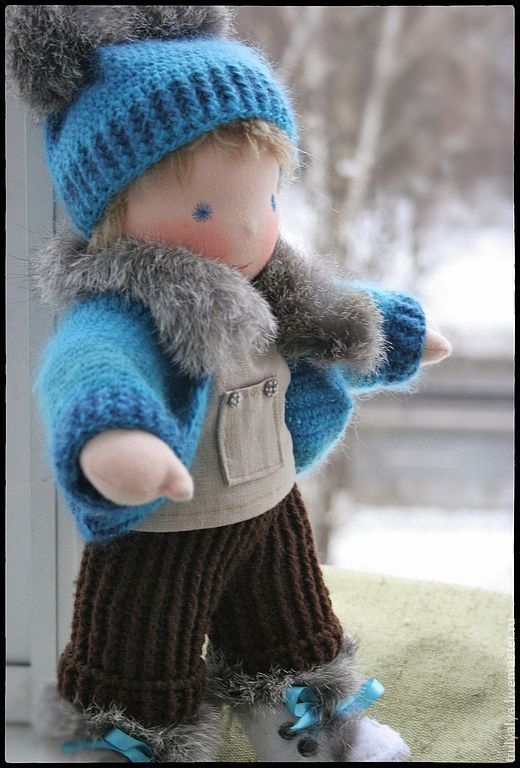 Вальдорфская игрушка ручной работы. Ярмарка Мастеров - ручная работа. Купить Кукла. Handmade. Вальдорфская кукла, Вязание крючком