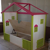 Для дома и интерьера handmade. Livemaster - original item 107. Children`s cabin with lifting mechanism. Handmade.