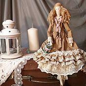 Куклы и игрушки ручной работы. Ярмарка Мастеров - ручная работа Тильда в стиле бохо Клементина. Handmade.