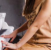 Одежда ручной работы. Ярмарка Мастеров - ручная работа Валяное платье Злато скифов-2. Handmade.