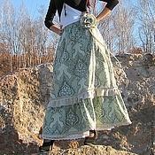 Одежда handmade. Livemaster - original item skirt style boho. Handmade.
