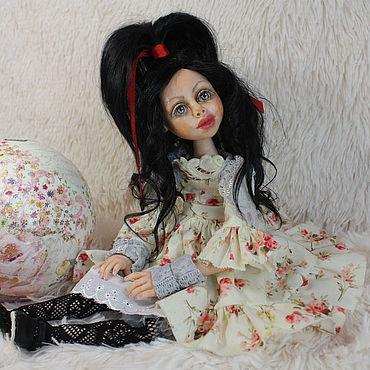 Куклы и игрушки ручной работы. Ярмарка Мастеров - ручная работа Куклы: Авторская шарнирная кукла. Handmade.