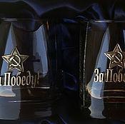Подарки к праздникам handmade. Livemaster - original item A set of glasses