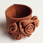 Украшения handmade. Livemaster - original item Bracelet genuine leather
