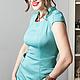 Платья ручной работы. Платье Decollo. Strygina (Strygina). Ярмарка Мастеров. Платье офисное, стильное платье, вискоза 81%