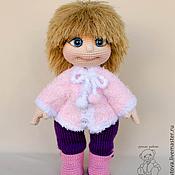 Куклы и игрушки ручной работы. Ярмарка Мастеров - ручная работа Полинка - вязаная кукла. Handmade.
