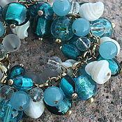 Bead bracelet handmade. Livemaster - original item bracelet