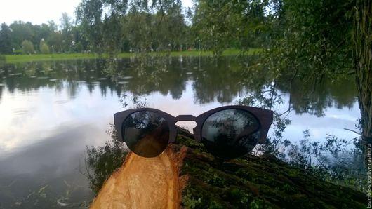 Очки ручной работы. Ярмарка Мастеров - ручная работа. Купить Деревянные очки ручной работы Willow. Handmade. Комбинированный, дерево