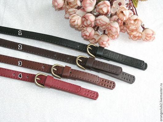 Другие виды рукоделия ручной работы. Ярмарка Мастеров - ручная работа. Купить Ручка для сумки  пришивная  с пряжкой. Handmade.