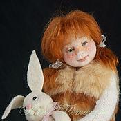 Куклы и игрушки ручной работы. Ярмарка Мастеров - ручная работа Авторская войлочная кукла Маша. Handmade.