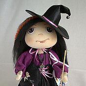 """Куклы и игрушки ручной работы. Ярмарка Мастеров - ручная работа Текстильная кукла """"Маленькая ведьмочка"""". Handmade."""