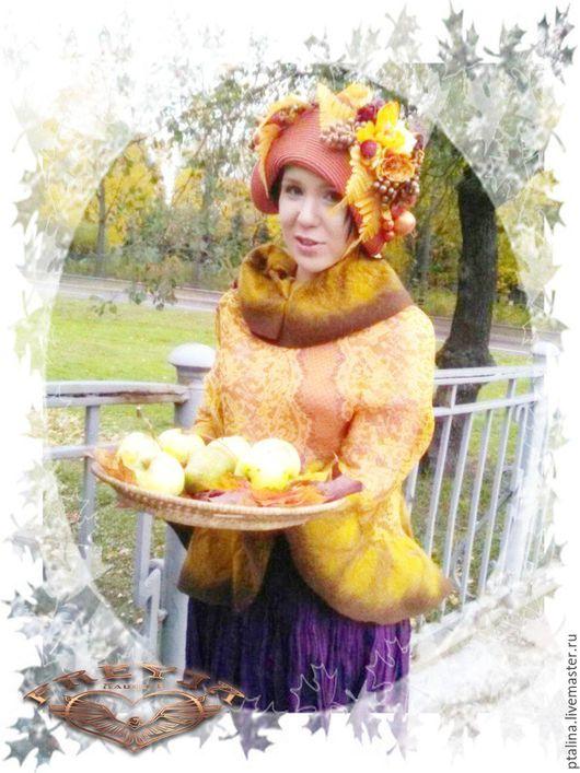 Детские карнавальные костюмы ручной работы. Ярмарка Мастеров - ручная работа. Купить шляпа для фотосессий Золотая Осень. Handmade.