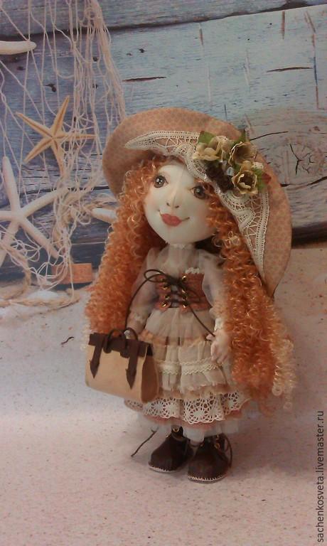 Куклы тыквоголовки ручной работы. Ярмарка Мастеров - ручная работа. Купить Эмилия. Авторская кукла в стиле Бохо винтаж. Интерьерная коллекционная. Handmade.