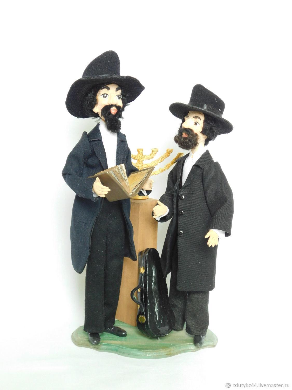 Коллекционные куклы ручной работы. Ярмарка Мастеров - ручная работа. Купить ВСТРЕЧА У МЕНОРЫ авторская коллекционная кукла. Handmade.