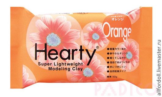 Материалы для флористики ручной работы. Ярмарка Мастеров - ручная работа. Купить Hearty Orange. Handmade. Hearty orange, харти