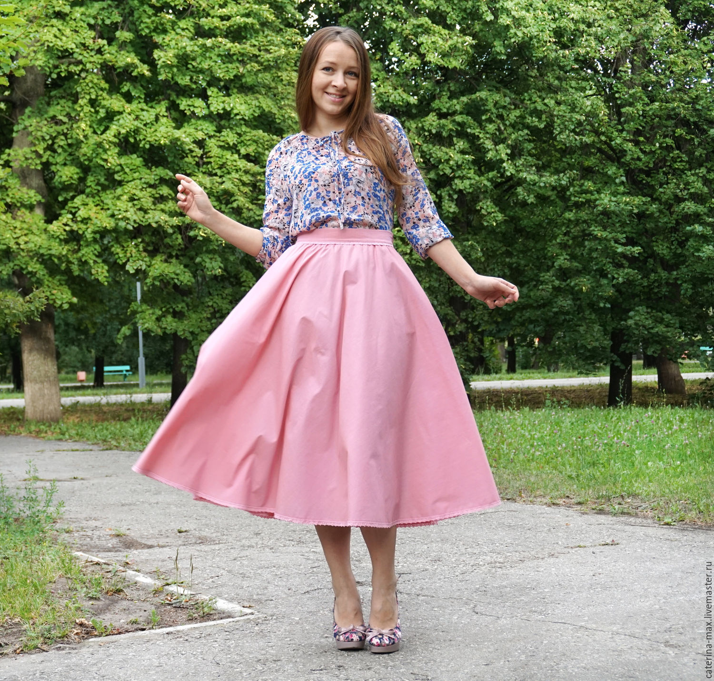 Летние юбки с блузками
