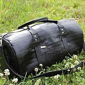 Сумки и аксессуары handmade. Livemaster - original item travel bag leather mens ESTET. Handmade.