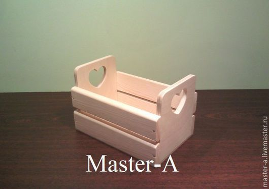 Короб реечный №1 (2-12х18) - заготовка для декупажа