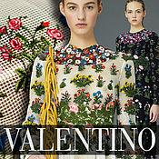 Материалы для творчества handmade. Livemaster - original item Valentino!  Elegant embroidery on mesh, Harmony In stock!. Handmade.