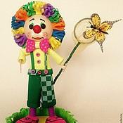 Куклы и игрушки ручной работы. Ярмарка Мастеров - ручная работа Клоун Летний. Handmade.