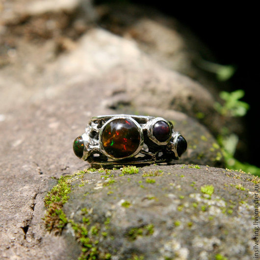 """Кольца ручной работы. Ярмарка Мастеров - ручная работа. Купить Кольцо """"Пузырики"""". Handmade. Кольцо, круглые камни"""