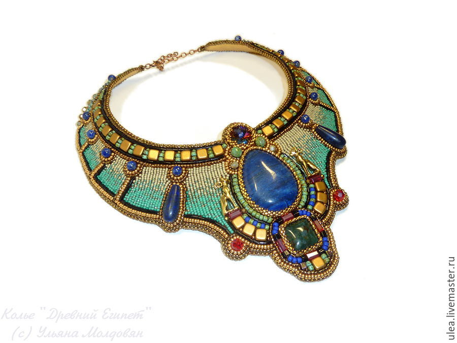 """Egyptian necklace """"Ancient Egypt"""" – shop online on ..."""