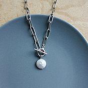 Украшения handmade. Livemaster - original item Choker with pearl. Handmade.