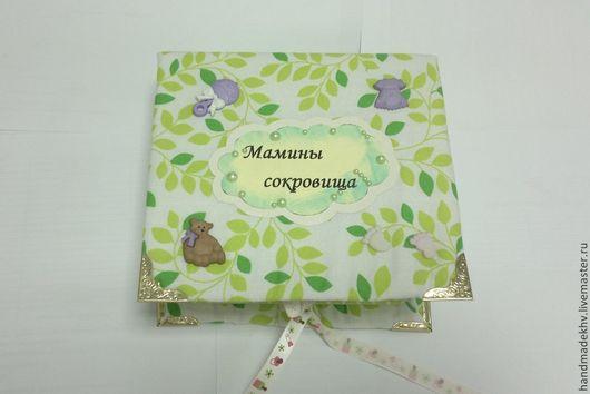 """Подарки для новорожденных, ручной работы. Ярмарка Мастеров - ручная работа. Купить Коробочки """"Сокровища МАМЫ"""" из 4. Handmade. Разноцветный, бусины"""