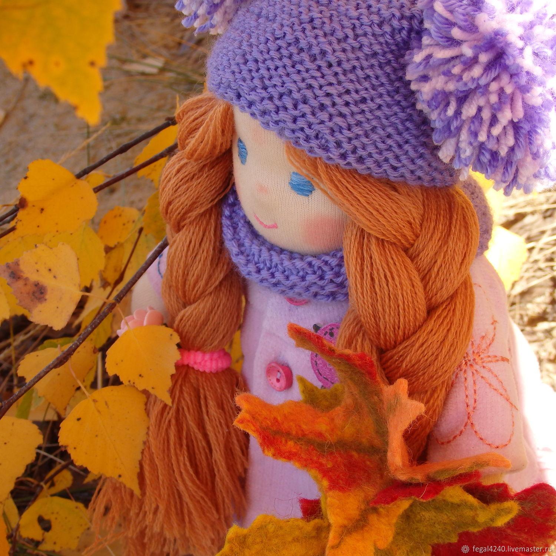 Вальдорфская кукла Любава, Вальдорфские куклы и звери, Балахна,  Фото №1