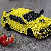 Сувениры и подарки ручной работы. Ярмарка Мастеров - ручная работа Автомобили из бисера. Handmade.