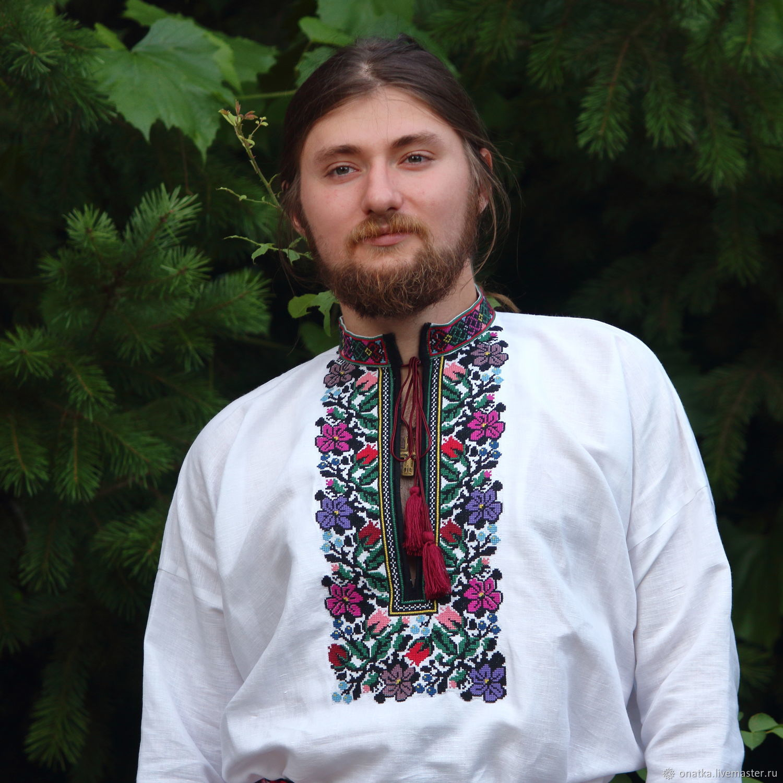 Western Ukrainian shirt, People\\\'s shirts, Voronezh,  Фото №1