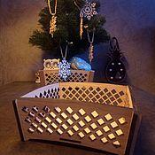 Короб ручной работы. Ярмарка Мастеров - ручная работа Коробочка из дуба. Handmade.