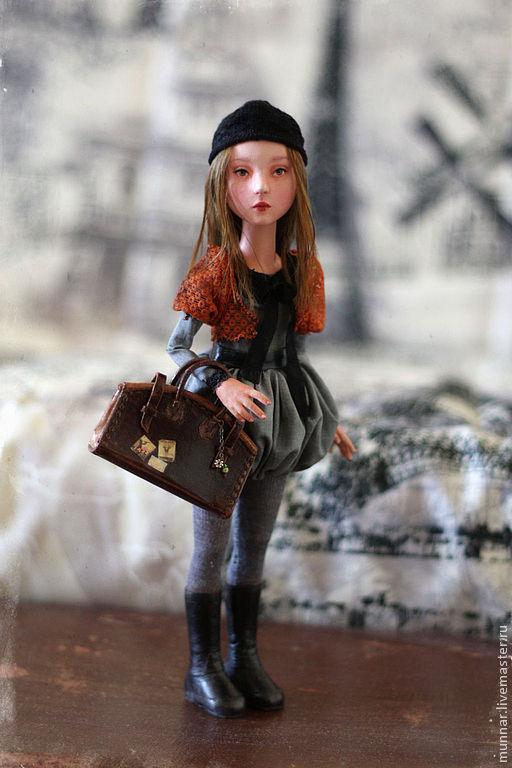 Коллекционные куклы ручной работы. Ярмарка Мастеров - ручная работа. Купить Voyage. Handmade. Авторская кукла, подарок, живая кукла