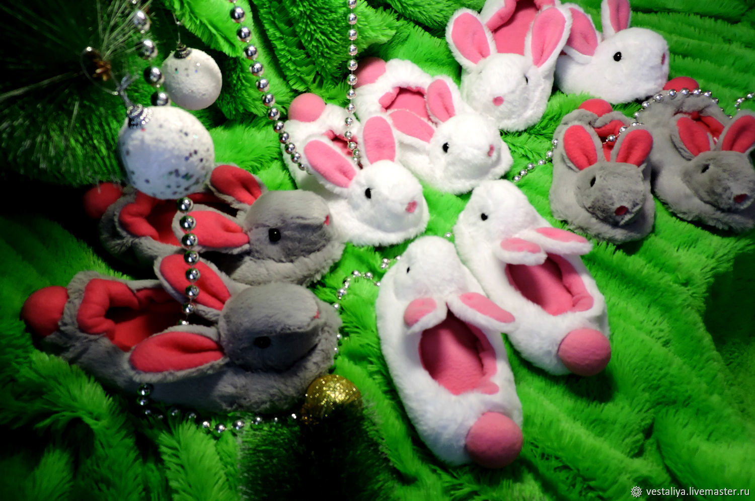 Slippers-ballet bunnies, Slippers, Novosibirsk,  Фото №1