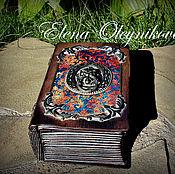 Для дома и интерьера ручной работы. Ярмарка Мастеров - ручная работа шкатулка книга со львом 2. Handmade.
