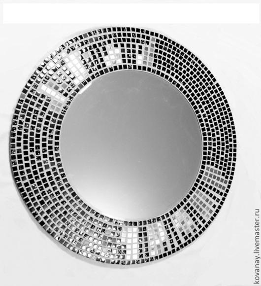 Зеркала ручной работы. Ярмарка Мастеров - ручная работа. Купить Зеркало рама  из мозаики.. Handmade. Зеркало, мозаика