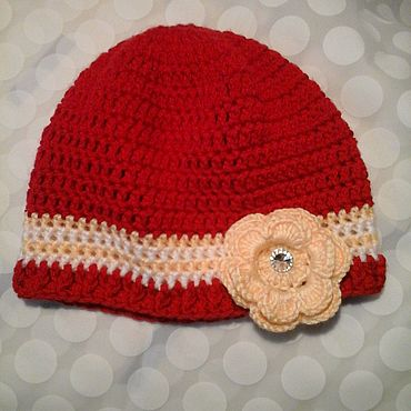 Clothing handmade. Livemaster - original item Beanie for ladies. Handmade.