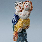 Сувениры и подарки handmade. Livemaster - original item The fisherman and the mermaid. Handmade.