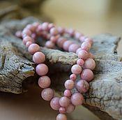 Украшения handmade. Livemaster - original item Rhodonite. beads. Handmade.