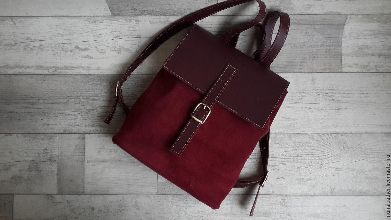 Городской рюкзак кожа купить рюкзак джинни эйвон отзывы