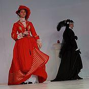 """Одежда ручной работы. Ярмарка Мастеров - ручная работа Костюм-комплект для верховой езды """"Амазонка"""" на середину 19 в.. Handmade."""