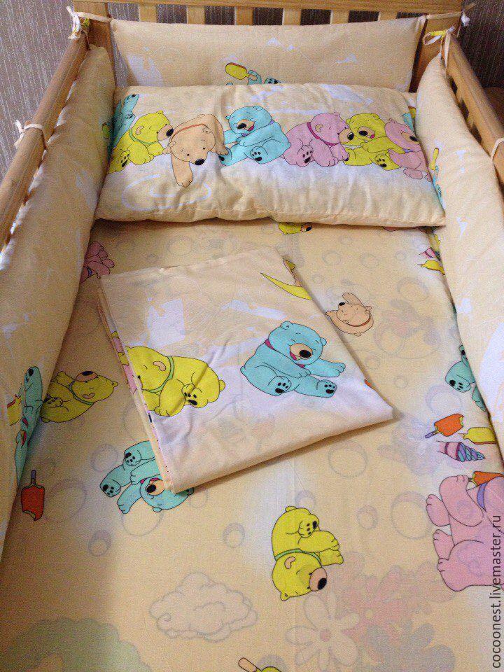 Бортик на детскую кроватку фото