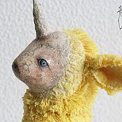 Куклы и игрушки ручной работы. Ярмарка Мастеров - ручная работа Авторская игрушка, Единорожек. Мохер. Handmade.