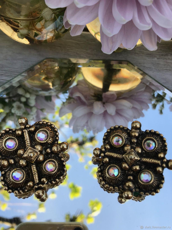Vintage clip charm, Holland, Vintage earrings, Arnhem,  Фото №1