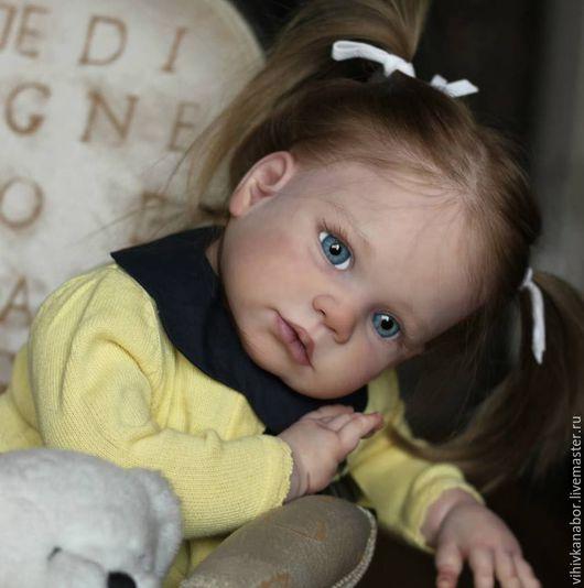 Куклы и игрушки ручной работы. Ярмарка Мастеров - ручная работа. Купить №2 Gabriela от Regina Swialkowski(голова с канавкой). Handmade. Бежевый