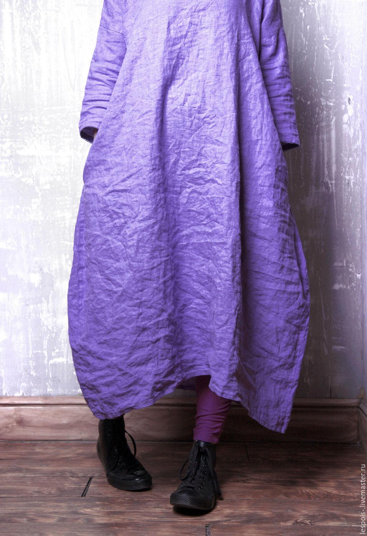 Купить Льняное Платье В Москве
