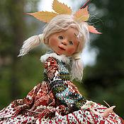 Куклы и игрушки ручной работы. Ярмарка Мастеров - ручная работа Девочка-осень. Handmade.