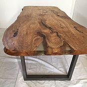 Стол из слэба карагача. Уникальный, авторский стол.