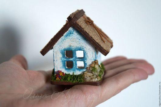 Кукольный дом ручной работы. Ярмарка Мастеров - ручная работа. Купить Домик для собачки. Handmade. Миниатюра, игровой набор